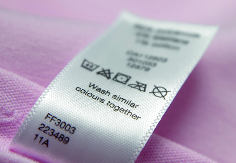 Garments Accessories Satin Care Label Supplying Company Dhaka Bangladesh